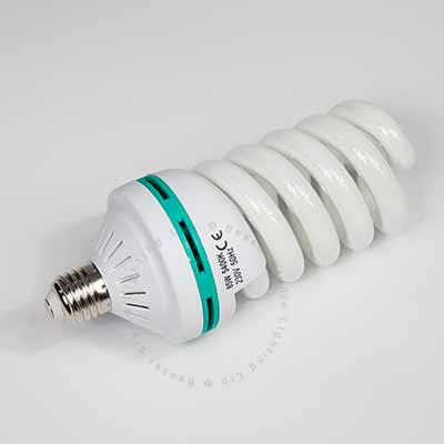 85W Low energy E27 spiral bulb