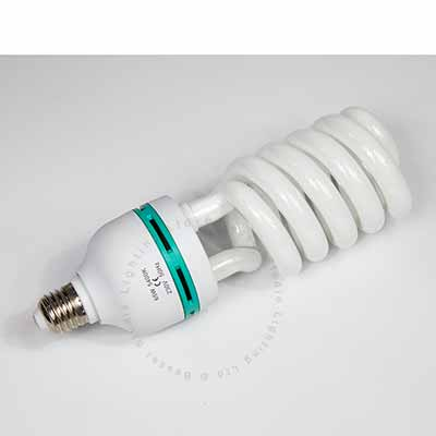 65W Low energy E27 spiral bulb