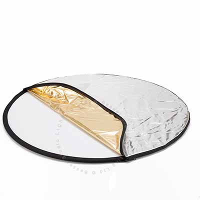 80cm round 5 in 1 'twist fold' reflector