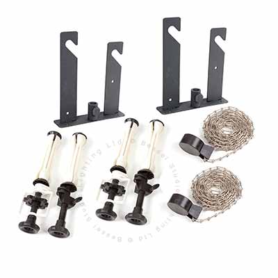 Wall/Ceiling Kit 2 Roll (metal chains)