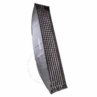 160cm x 35cm 4cm grid Softbox S-Fit