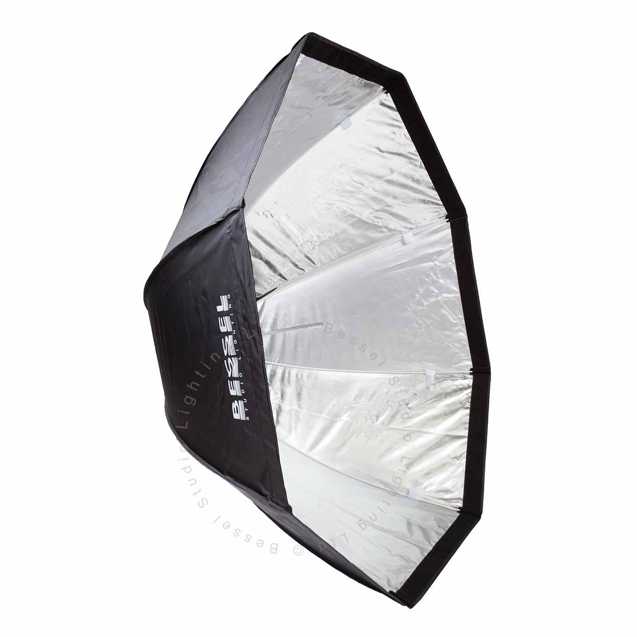 Umbrella Like A Softbox: Bessel 120cm Octabox Softbox + 2 Diffusers & 4cm Grid