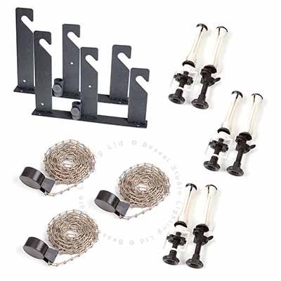 Wall/Ceiling Kit 3 Roll (metal chains)