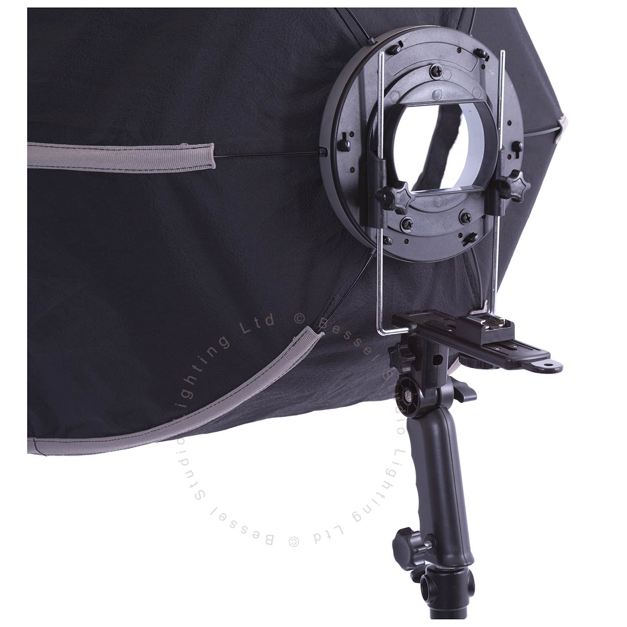 Bessel 60cm hexagonal softbox for flashgun with 2 for Hover tr table